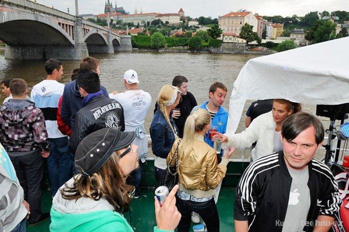Praha na lodi