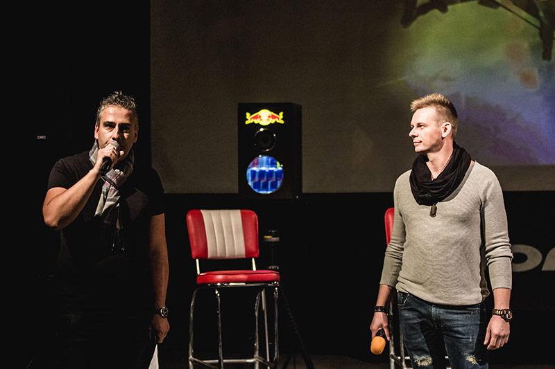 Erik Horváth (Incognito DJ) a Martin Molnár (DJ A-Z Best)