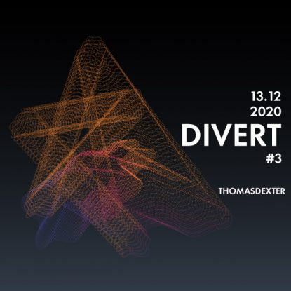 ThomasDeXter - Divert #3 13.12.2020 (Vinyl Only)